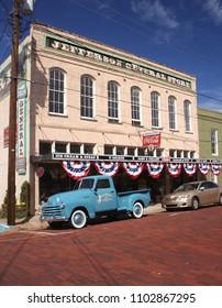 Jefferson, Texas - October 31, 2011: Jefferson General Store in Historic Jefferson Texas