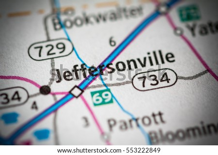 Jeffersonville Ohio Map.Jeffersonville Ohio Usa Stock Photo Edit Now 553222849 Shutterstock