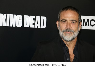 Jeffrey Dean Morgan at the premiere of AMC's 'The Walking Dead' Season 9 held at the DGA Theater in Los Angeles, USA on September 27, 2018.