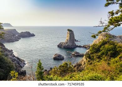 Jeju do Oedolgae Rock, Jeju Island, South Korea