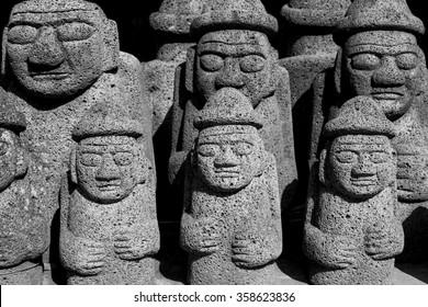 Jeju Island Idols and Statues