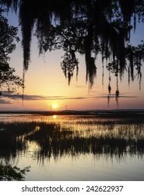 Jekyll Island GA Sunset