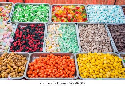 Jello gummy candies