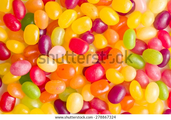 a lot of jelly beans