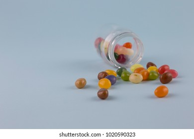 jelly beans multi colour