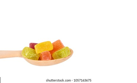 childhood jelly bears candies hand isolated stock photo edit now
