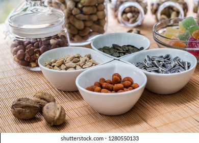 Jelly and nuts