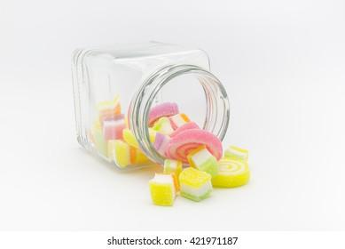 Jelly in small bottle