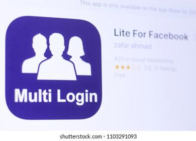 Facebook Lite Images, Stock Photos & Vectors | Shutterstock