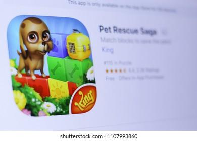 Pet Rescue Saga Images, Stock Photos & Vectors   Shutterstock