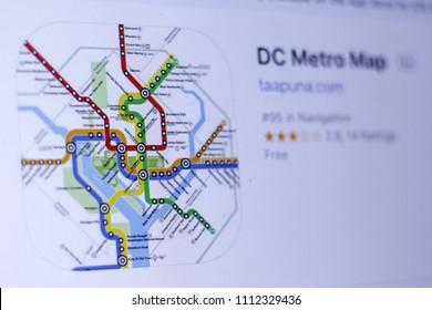 Dc Metro Map Images Stock Photos Vectors Shutterstock