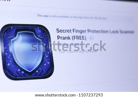 Image result for Secret Finger Protection Lock Scanner Prank (FREE)