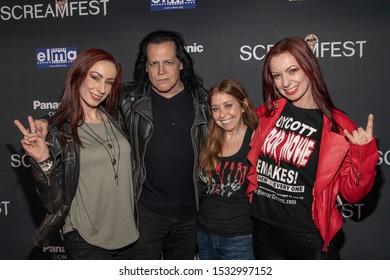 "Jen Soska, Glenn Danzig, Rachel Belofsky, Sylvia Soska  attends 19th Annual Horror Film Festival - Screamfest - ""Rabid"" Los Angeles Premiere at TCL Chinese Theatre, Hollywood, CA on October 16, 2019"