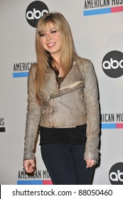 Jennette McCurdy at the nominations announcement for the 2010 American Music Awards at the JW Marriott at L.A. Live. October 12, 2010  Los Angeles, CA Picture: Paul Smith / Featureflash
