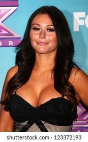 "Jenni Farley at ""The X Factor"" Season Finale Night 1, CBS Televison City, Los Angeles, CA 12-19-12"