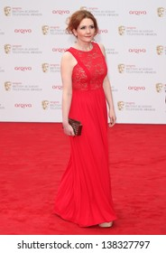 Jennie McAlpine arriving for the TV BAFTA Awards 2013, Royal Festival Hall, London. 12/05/2013