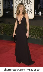 JENNIFER ANISTON at the 61st Annual Golden Globe Awards at the Beverly Hilton Hotel, Beverly Hills, CA. January 25, 2004