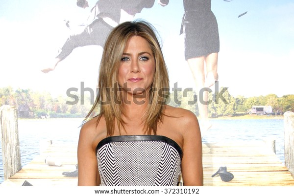 """Jennifer Aniston at the Los Angeles Premiere of """"Wanderlust"""" held at the Mann Village Theatre in Los Angeles, USA on February 16, 2012."""