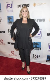 Jennifer Candy attends  In Vino - Premiere at The Writers Guild Theater on July 27th 2017 in Beverly Hills, California