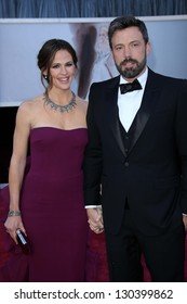 Jennifer Garner, Ben Affleck at the 85th Annual Academy Awards Arrivals, Dolby Theater, Hollywood, CA 02-24-13