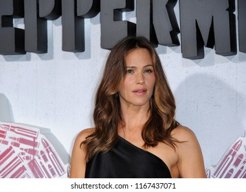 Jennifer Garner at the Los Angeles premiere of 'Peppermint' held at the Regal Cinemas L.A. LIVE in Los Angeles, USA on August 28, 2018.