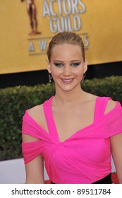 Jennifer Lawrence at the 17th Annual Screen Actors Guild Awards at the Shrine Auditorium. January 30, 2011  Los Angeles, CA Picture: Paul Smith / Featureflash