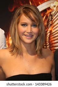 Jennifer Lawrence at the 66th Cannes Film Festival - The Hunger Games: Catching Fire - photocall. 18/05/2013