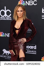 Jennifer Lopez at the 2018 Billboard Music Awards held at the MGM Grand Garden Arena in Las Vegas, USA on May 20, 2018.