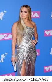 Jennifer Lopez at the 2018 MTV Video Music Awards held at the Radio City Music Hall in New York, USA on August 20, 2018.