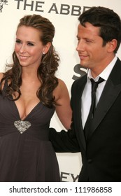 Jennifer Love Hewitt and Ross McCall at The Envelope Please 6th Annual Oscar Viewing Party to Benefit APLA Presented by SBE Entertainment. The Abbey, Los Angeles, CA. 02-25-07