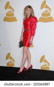 Jennifer Nettles at The GRAMMY Nominations Concert Live!, Club Nokia, Los Angeles, CA.  12-02-09