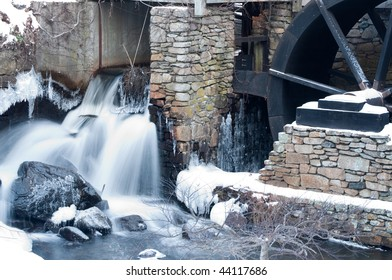 Jenny grist mill in Plymouth,Massachusetts