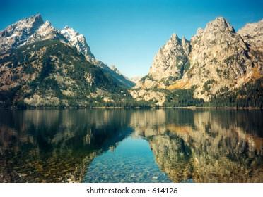 Jenny Lake, Grand Teton, Wyoming.