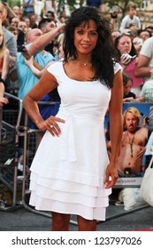"""Jenny Powell arriving for the premiere of """"Keith Lemon: The Film"""" at the Vue Cinema, Leicester Square, London. 21/08/2012. Picture by: Steve Vas"""