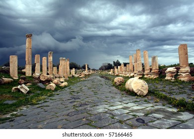 Jerash, ancient Roman city