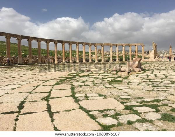 Jerash, Jordan Roman ruins