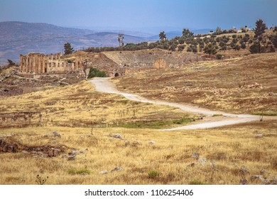 Jerash is the site of the ruins of the Greco-Roman city of Gerasa, also referred to as Antioch on the Golden River, Jordan