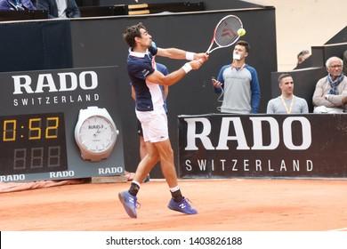 Jeremy Chardy (FRA) during Open Parc Auvergne-Rhône-Alpes Lyon 2019 ATP 250 Tennis tournament on May 20, 2019 at Parc de la Tête d'Or Lyon France