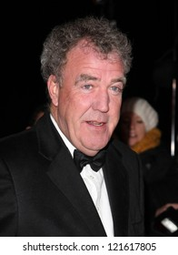Jeremy Clarkson arriving for The Sun Military Awards, at The Imperial War Museum, London. 06/12/2012 Picture by: Alexandra Glen