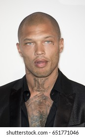 Jeremy Meeks attends the amfAR Gala Cannes 2017 at Hotel du Cap-Eden-Roc on May 25, 2017 in Cap d'Antibes, France. During Cannes film festival 2017