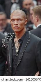 """Jeremy Meeks attends the opening ceremony and screening of """"The Dead Don't Die"""" during the 72nd annual Cannes Film Festival on May 14, 2019 in Cannes, France."""