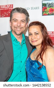 Jeremy Miller, Joanie Miller attend The 5th Annual Roger Neal & Maryanne Lai Oscar Viewing Dinner - Icon Awards at The Hollywood Museum, Hollywood, CA on February 9, 2020