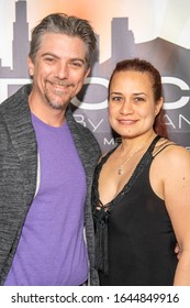 """Jeremy Miller, Joanie Miller attend Special Screening of Amazon Video """"Studio City"""" at Elks Lodge, Van Nuys, CA on February 11, 2020"""