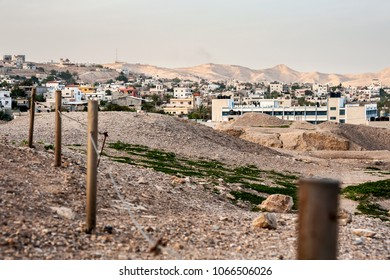 Jericho is a city in the Palestinian Territories and is located near the Jordan River in the West Bank.