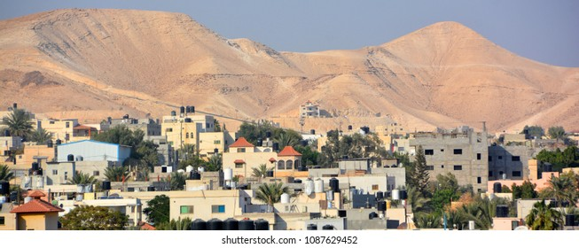 JERICHO ISRAEL 10 29 2016: Jericho is a city in the Palestinian Territories and is located near the Jordan River in the West Bank. It is believed to be one of the oldest inhabited cities in the world