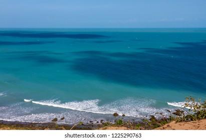 Jericoacoara Beach, View Praia da Malhada - ROUTE HOLED STONE - Summer Vacation