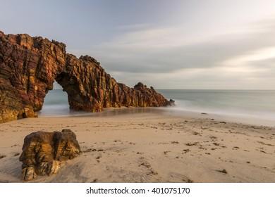 JERICOACOARA, CEARA, BRAZIL - SEPTEMBER 2015 - Jericoacoara National Park - Jericoacoara's Beach