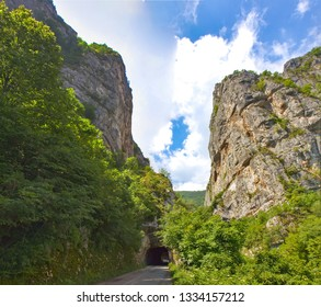 Jerma River canyon in Serbia near the village of Vlasi - Shutterstock ID 1334157212