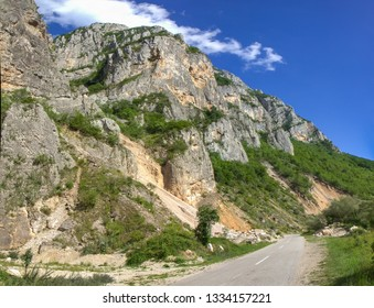 Jerma River canyon in Serbia near the village of Vlasi - Shutterstock ID 1334157221
