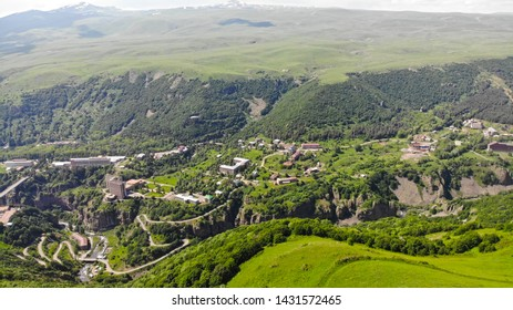 Jermuk high altitude city, Armenia